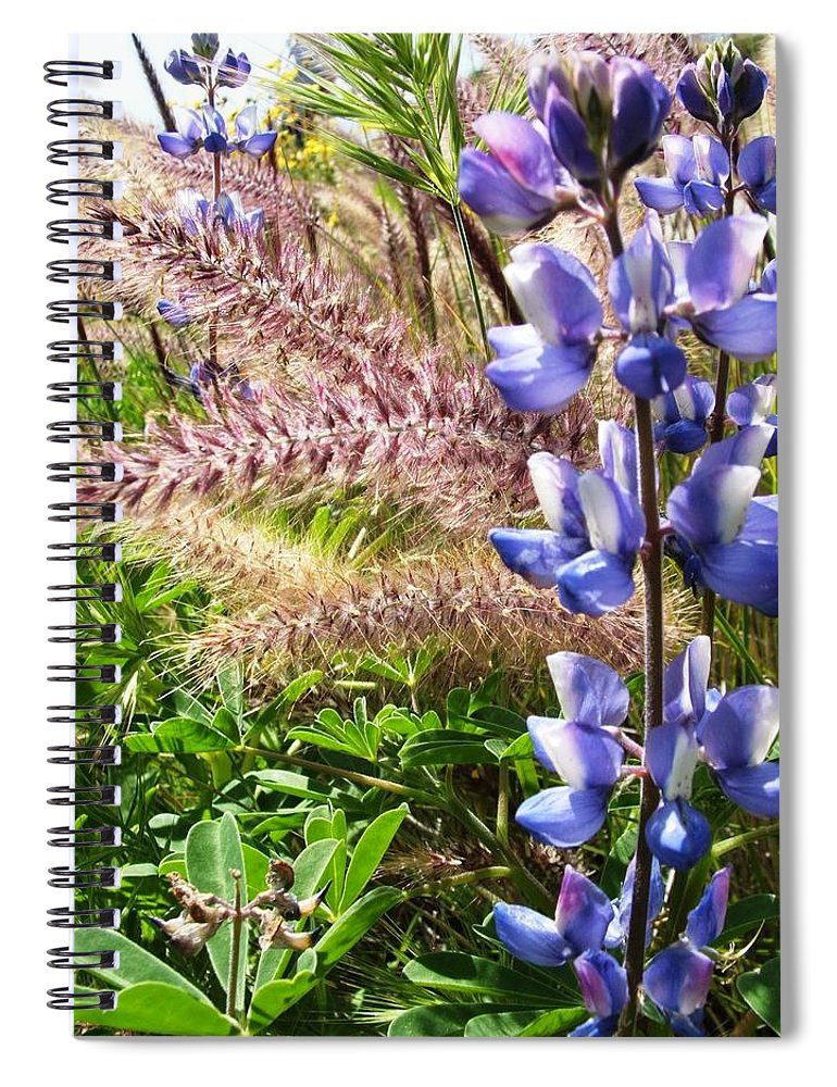 Flower Spiral Notebook featuring the photograph Wild Flower by Shari Chavira