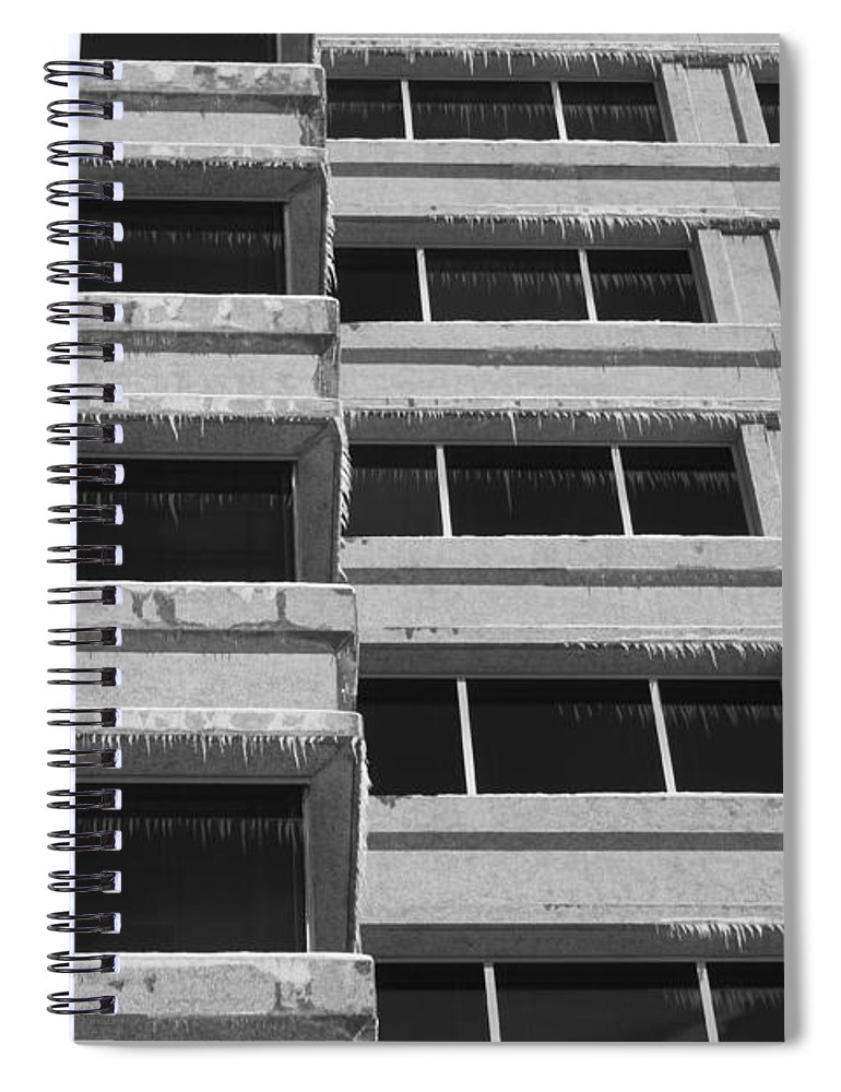 Window Spiral Notebook featuring the photograph Window Cicles by Lauri Novak