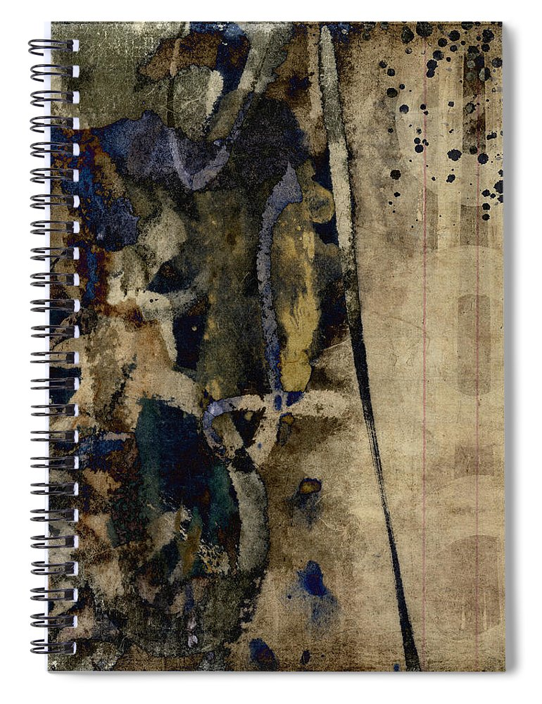 Winter Spiral Notebook featuring the photograph Winter Rains Series Five Of Six by Carol Leigh