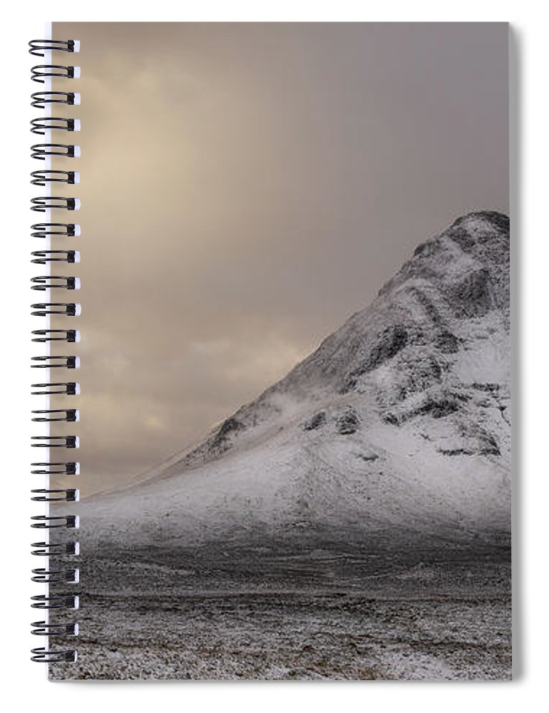 Bauchaille Spiral Notebook featuring the photograph Buachaille Etive Beag 1 by Keith Thorburn LRPS EFIAP CPAGB