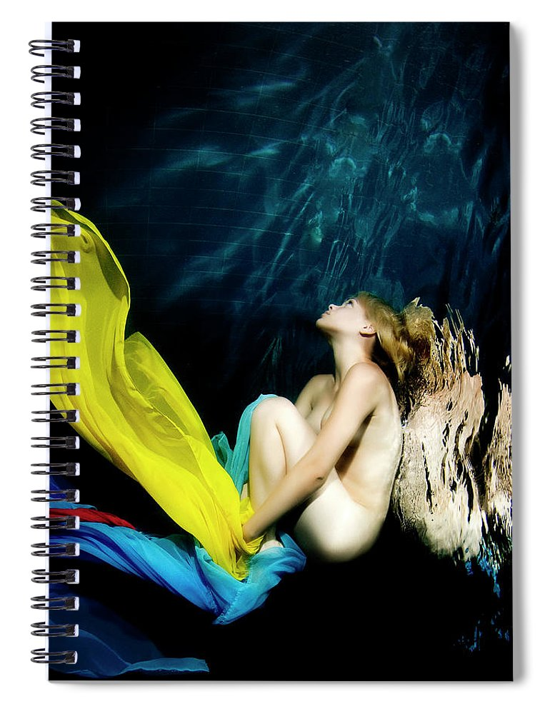 Ballet Dancer Spiral Notebook featuring the photograph Nymph by 1001nights