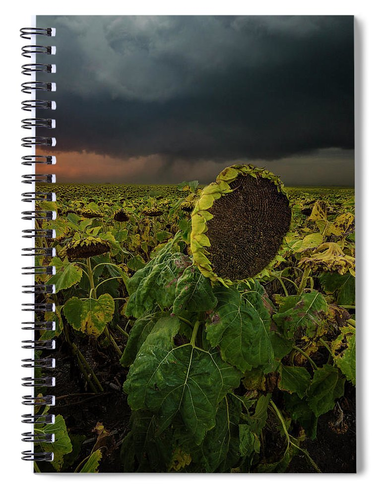Tornado Spiral Notebook featuring the photograph Twisted by Aaron J Groen