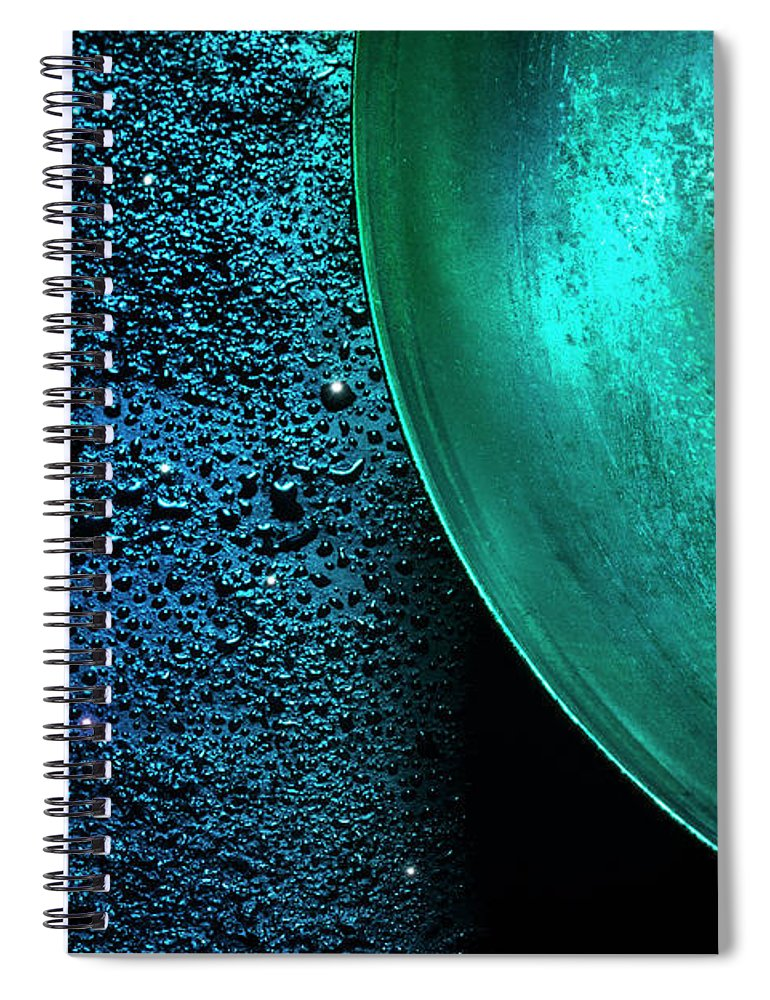 Domestic Room Spiral Notebook featuring the photograph Universe In The Kitchen by Hiroshi Watanabe