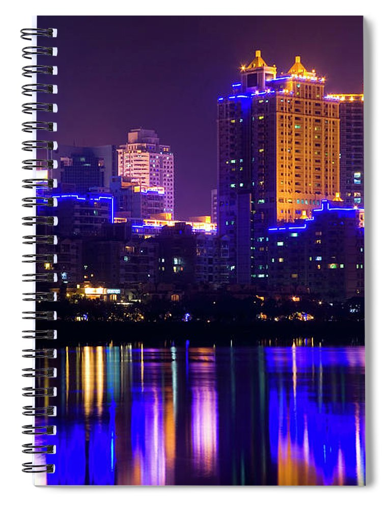 Chinese Culture Spiral Notebook featuring the photograph Xiamen,fujian by Best View Stock