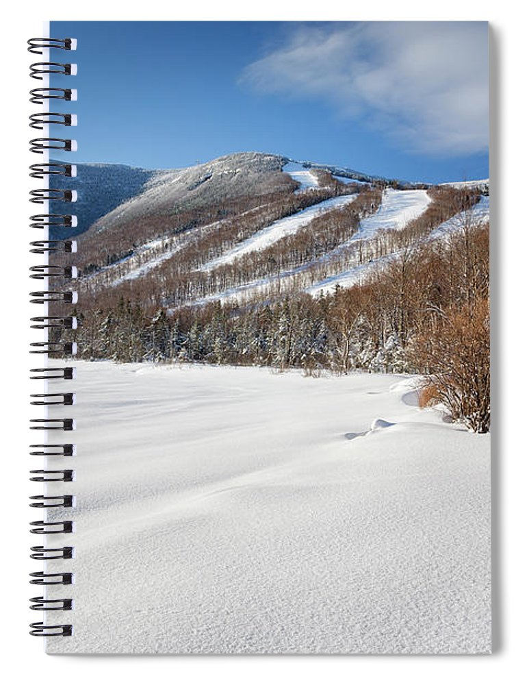 Franconia Notch State Park Spiral Notebook featuring the photograph Cannon Mountain - White Mountains New Hampshire by Erin Paul Donovan
