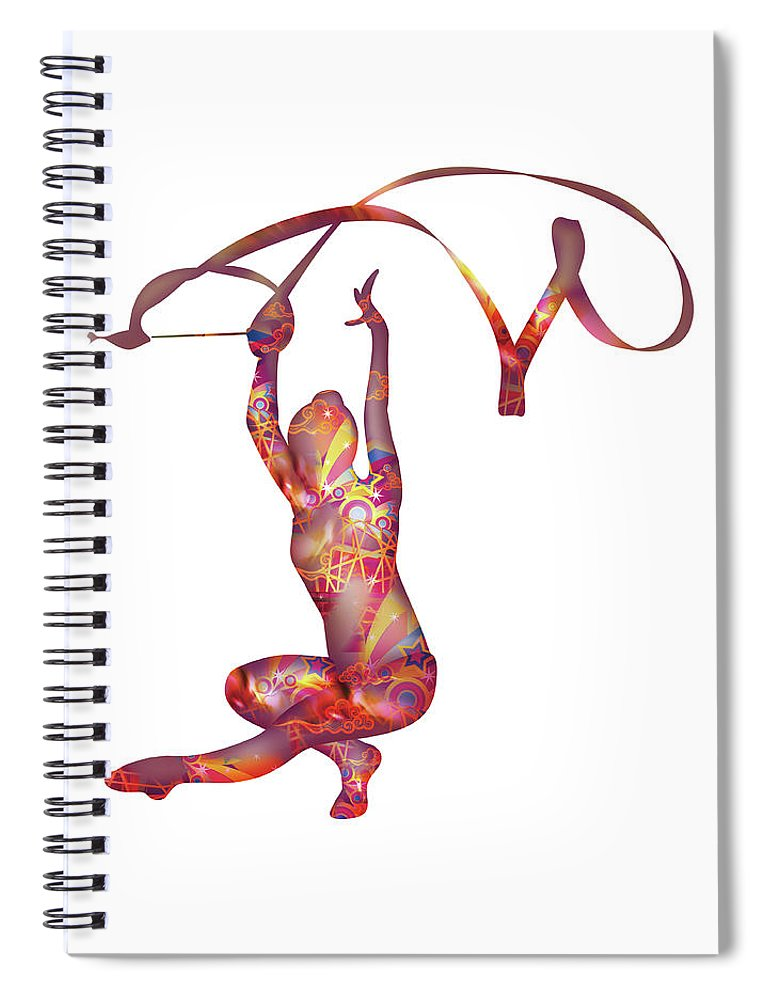 People Spiral Notebook featuring the digital art Sculpture,moulding Art by Best View Stock