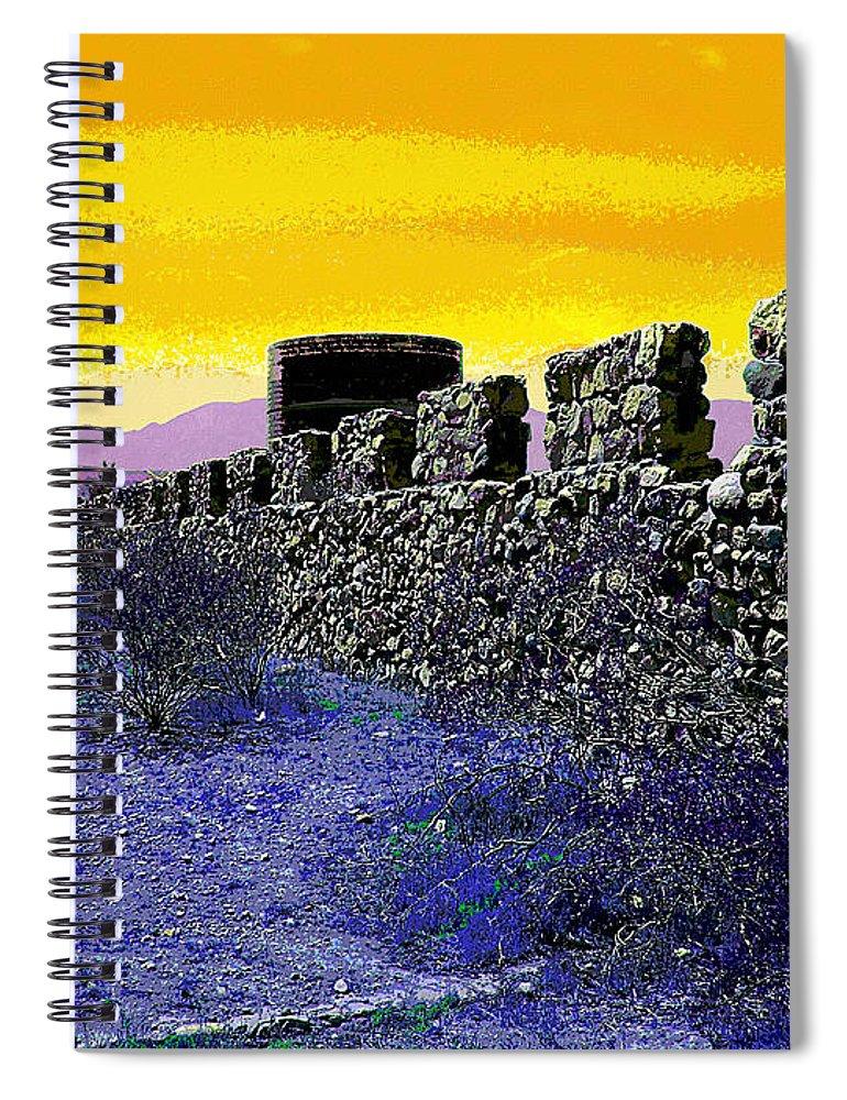 Desert Spiral Notebook featuring the photograph A Desert Host 2 by Glenn McCarthy Art and Photography
