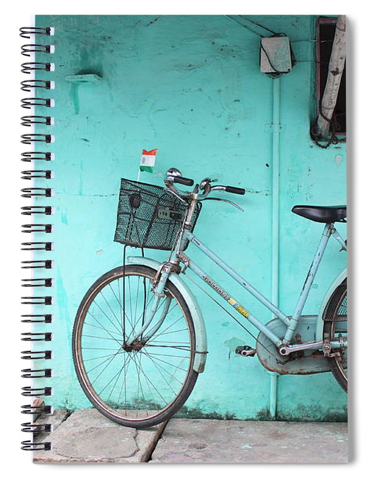 Tranquility Spiral Notebook featuring the photograph A Noon Of 15th August by © Siddharth Sahani