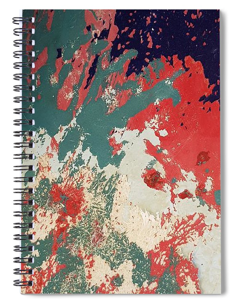 Abstract Spiral Notebook featuring the photograph Abstract Boat by Paola Baroni