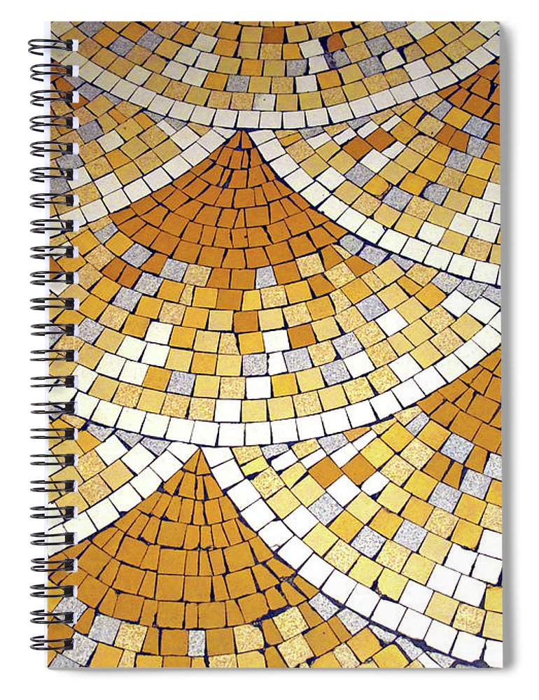 Art Spiral Notebook featuring the photograph Art Deco by Christine Dolan Photography
