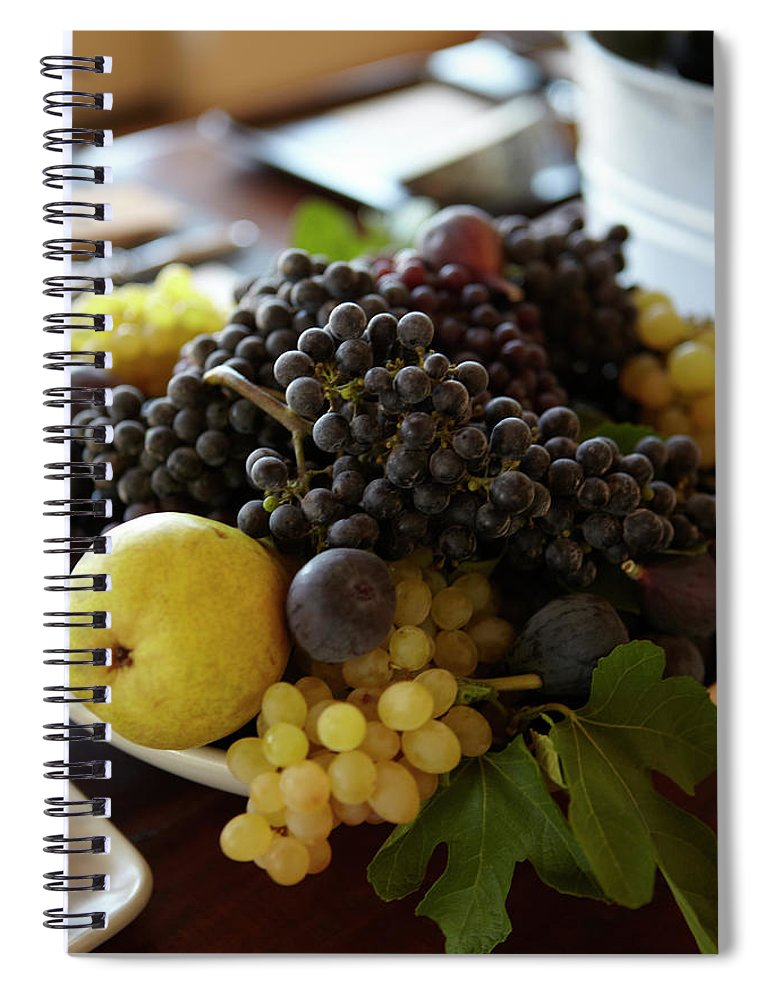 Healthy Eating Spiral Notebook featuring the photograph Assorted Fruit by James Baigrie