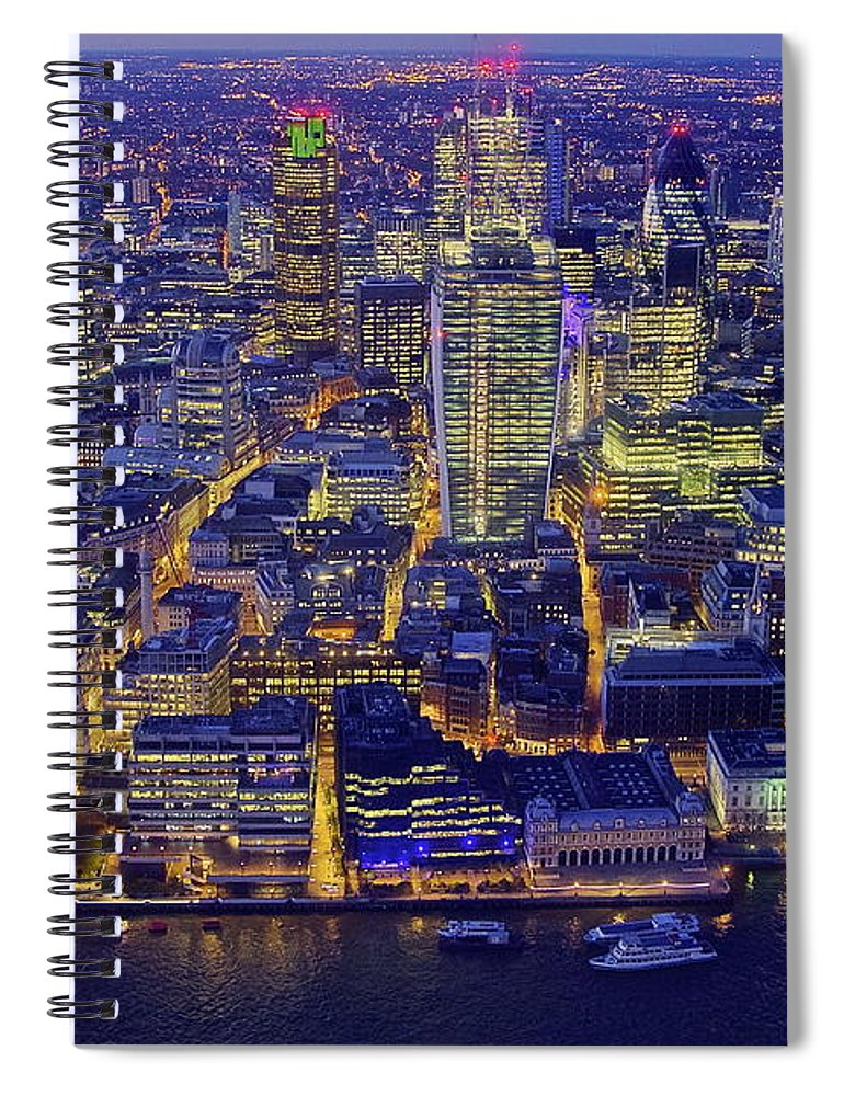 Scenics Spiral Notebook featuring the photograph Babel 2.0 by By Andrea Pucci