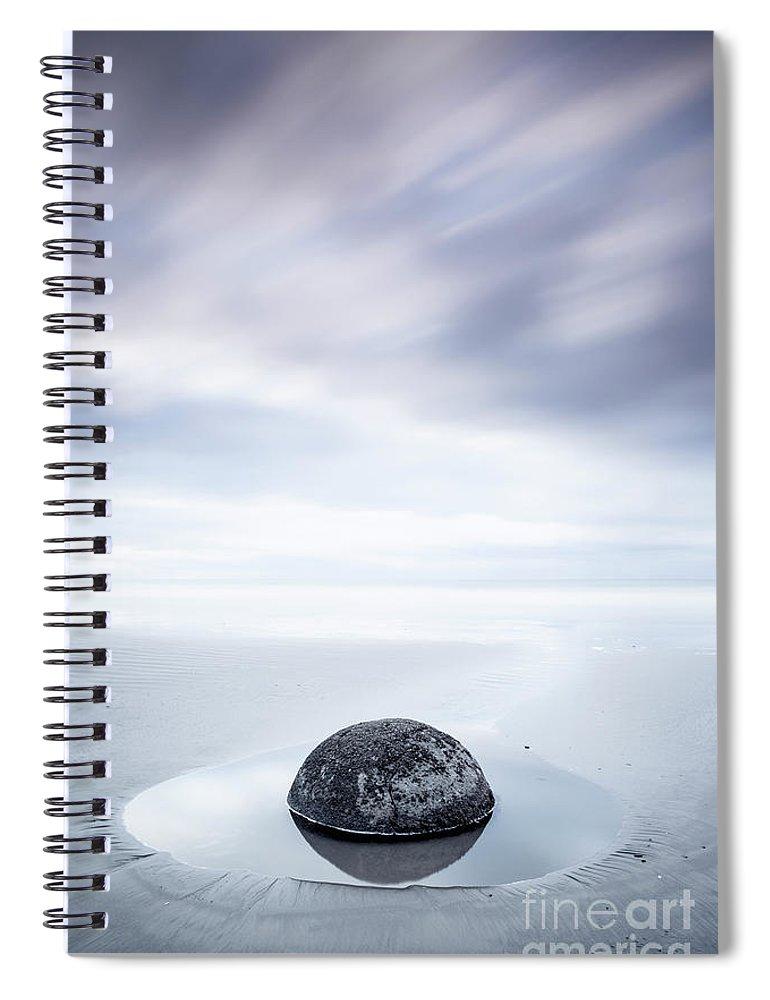 Kremsdorf Spiral Notebook featuring the photograph Bathe Your Senses by Evelina Kremsdorf