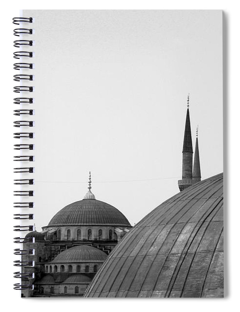Istanbul Spiral Notebook featuring the photograph Blue Mosque, Istanbul by Dave Lansley