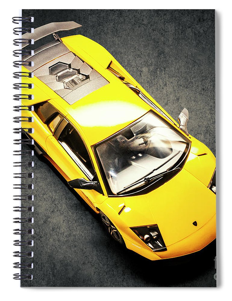 Car Spiral Notebook featuring the photograph Boys Toys by Jorgo Photography - Wall Art Gallery