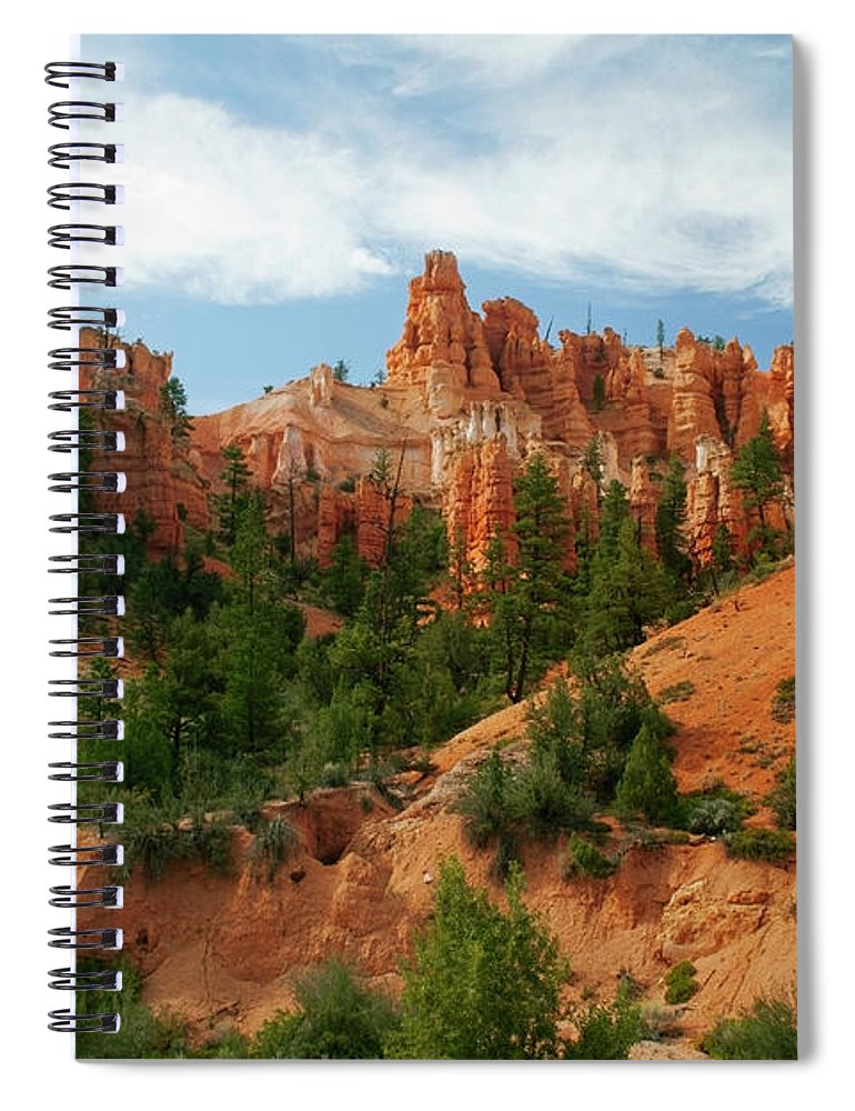 Scenics Spiral Notebook featuring the photograph Bryce Canyon by Wsfurlan