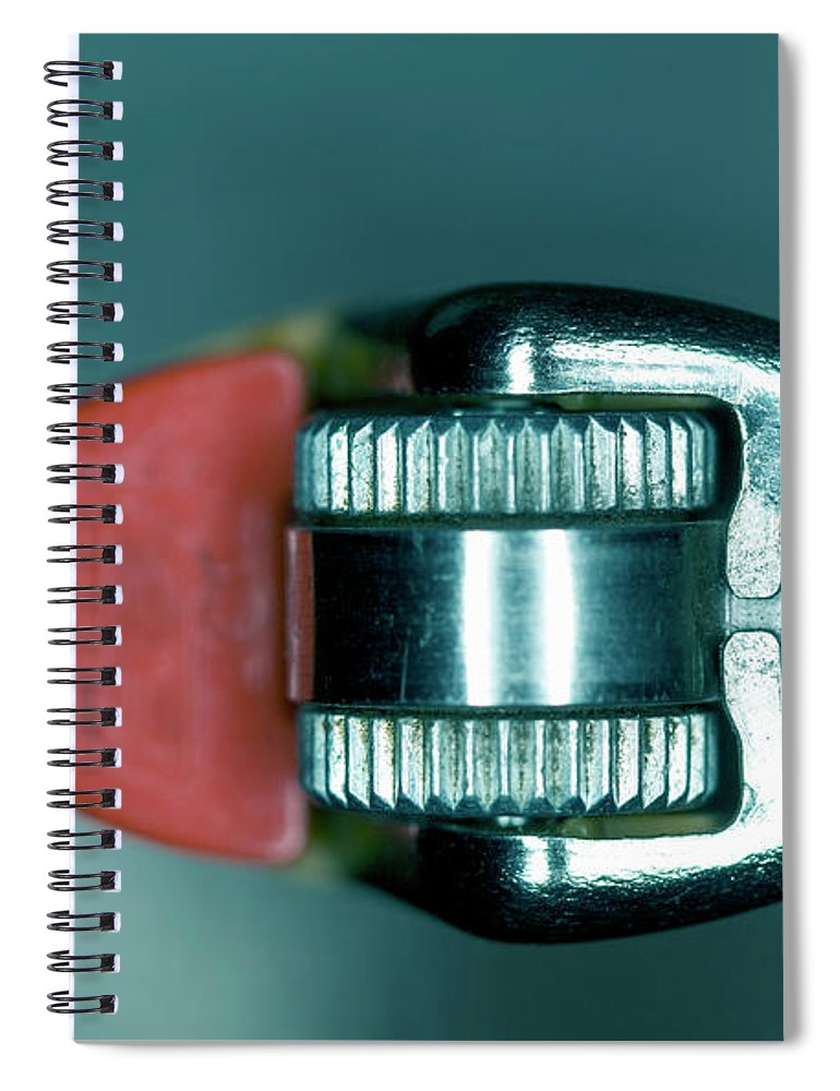 Cigarette Lighter Spiral Notebook featuring the photograph Cigarette Lighter, Close-up by Michael Duva