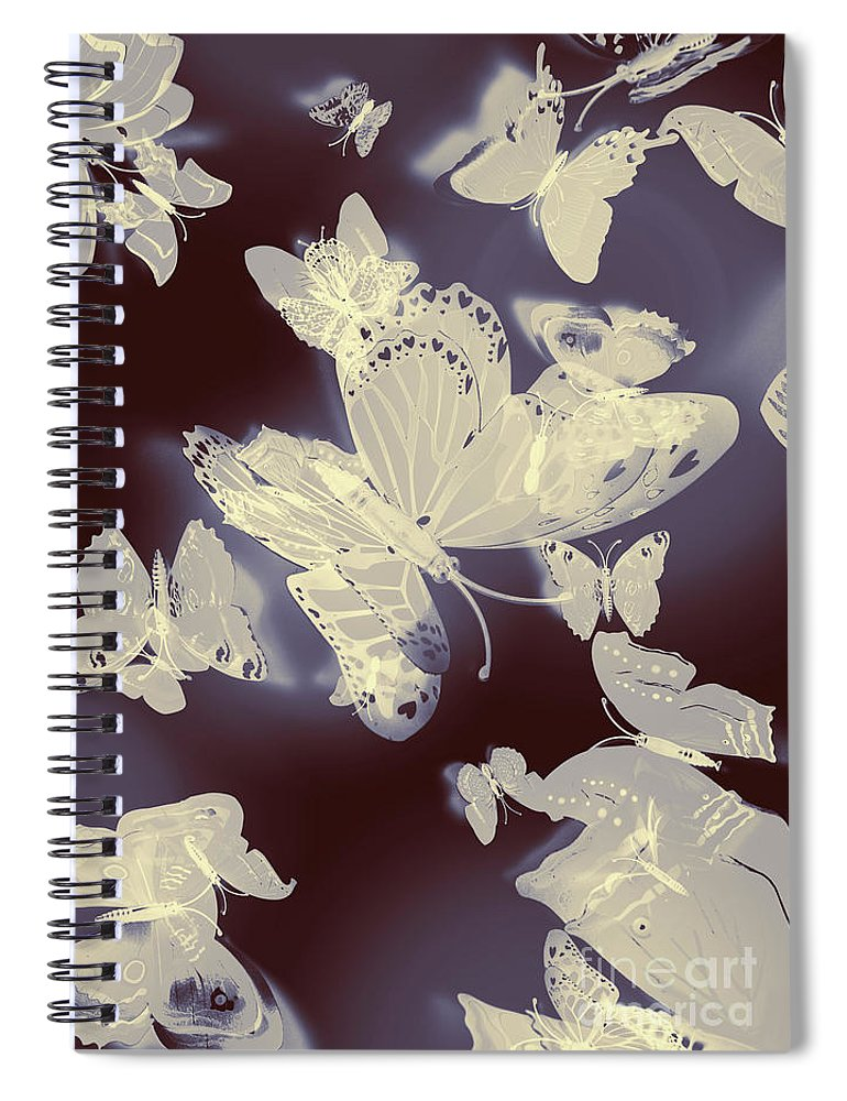 Nature Spiral Notebook featuring the photograph Classical Movement by Jorgo Photography - Wall Art Gallery