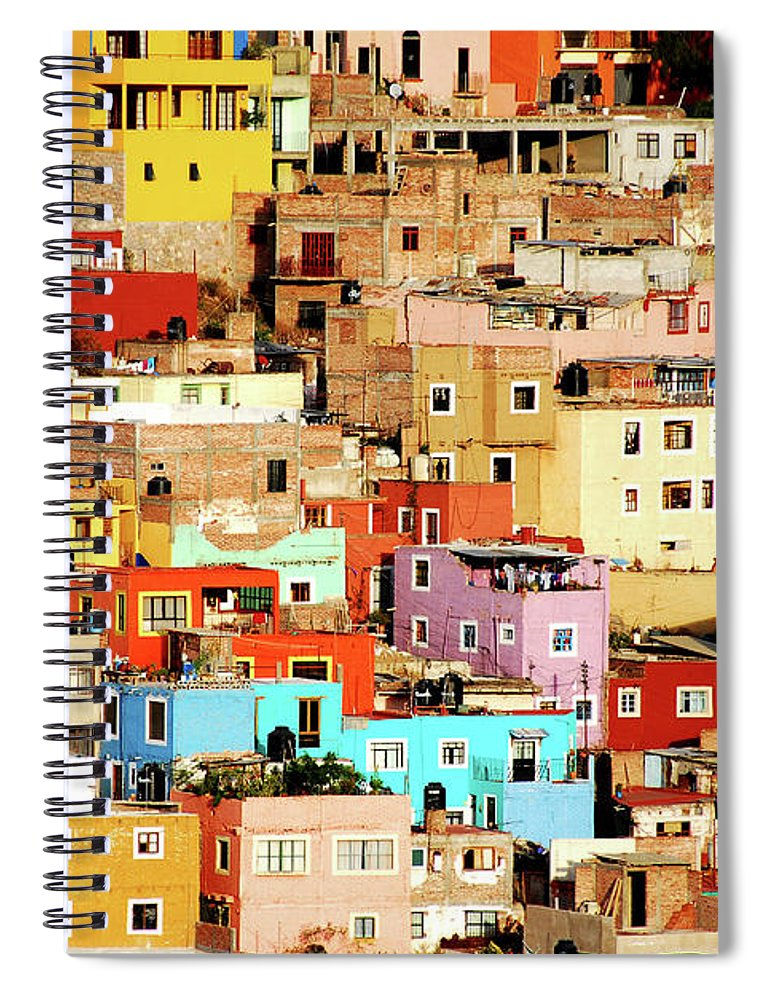 Tranquility Spiral Notebook featuring the photograph Colors On Hill by Nan Zhong