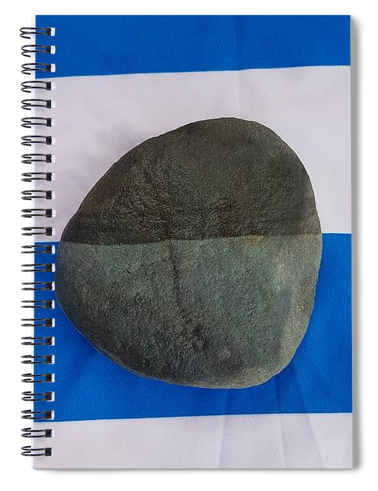 Contrast Spiral Notebook featuring the photograph Contrast by Paola Baroni