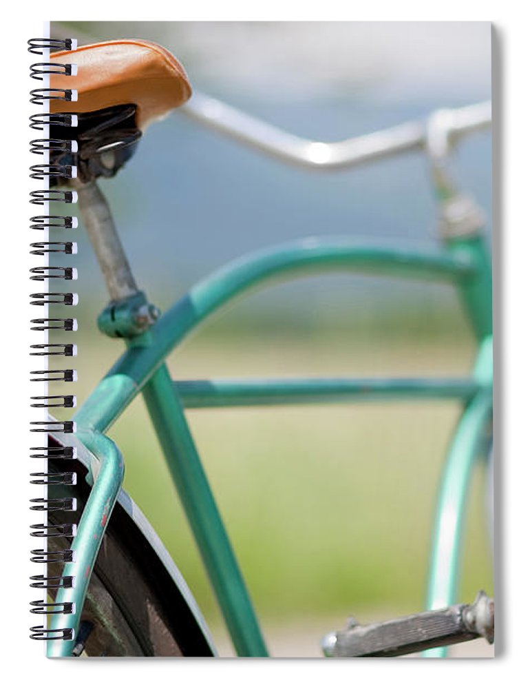 Tranquility Spiral Notebook featuring the photograph Cruiser Bicycle by Rocksunderwater