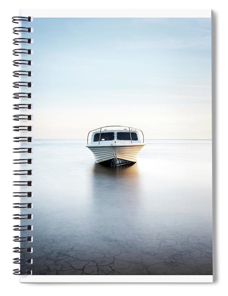 Lytham Spiral Notebook featuring the photograph Cruiser by Mark Mc neill