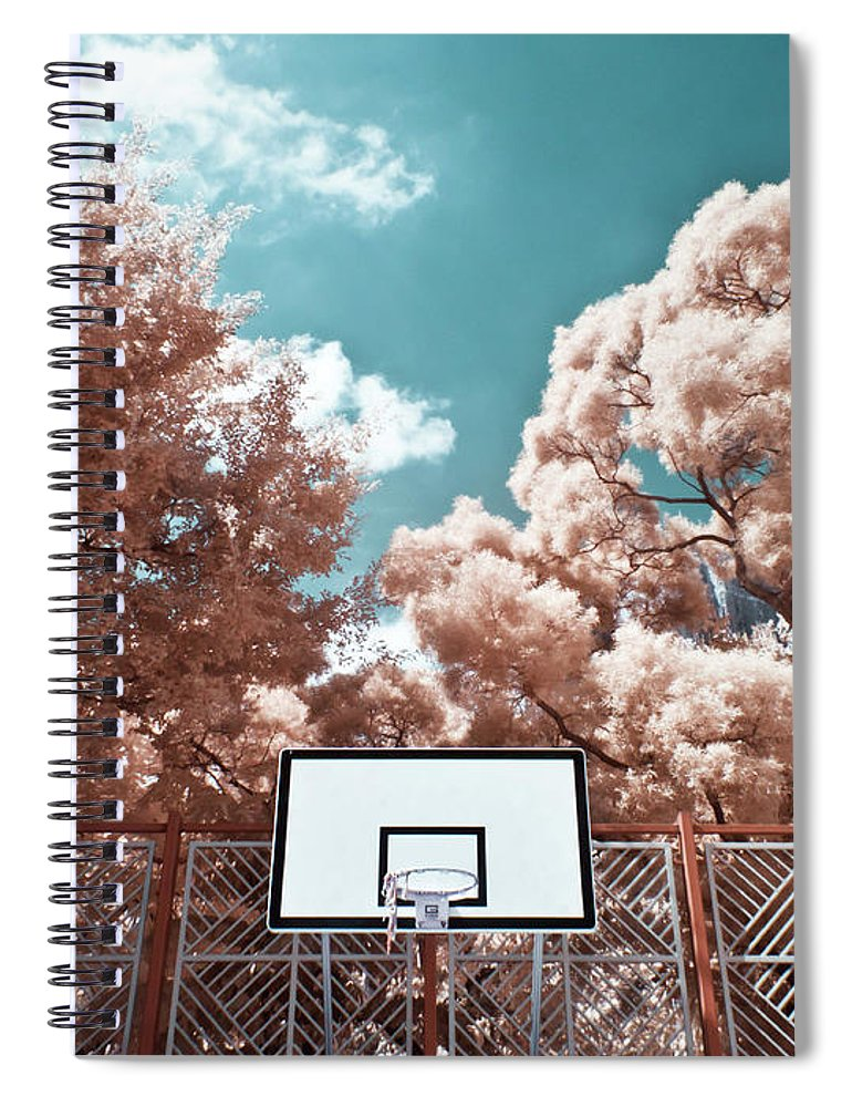 Tranquility Spiral Notebook featuring the photograph Digital Infrared Photos by Terryprince