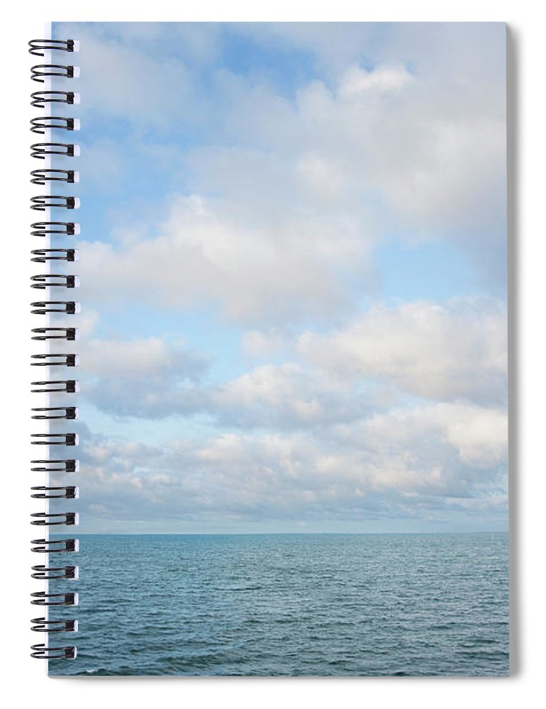 Tranquility Spiral Notebook featuring the photograph Early Morning, Nantucket Sound by Nine Ok