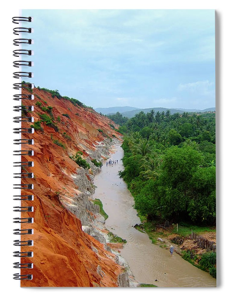 Tranquility Spiral Notebook featuring the photograph Fairy Springs In Mui Ne by Thomas Davis