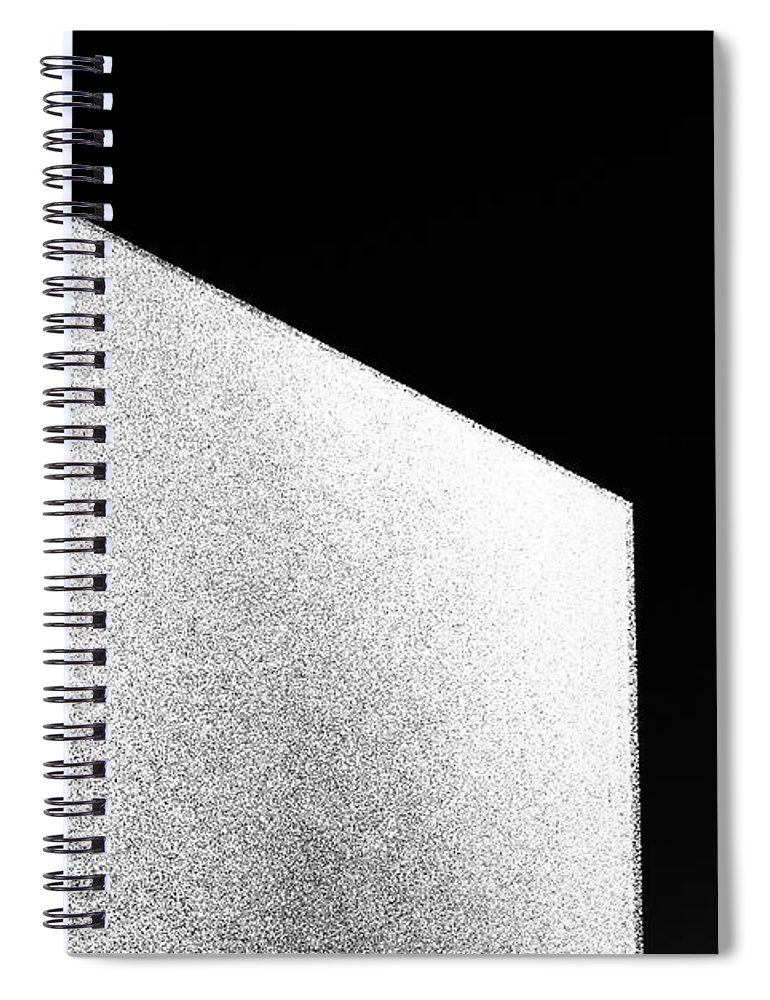 Abstract Spiral Notebook featuring the photograph Glass And Sky by DiFigiano Photography