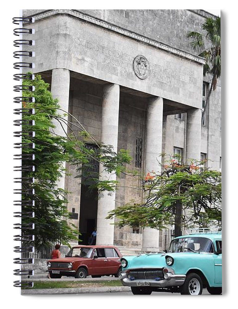 Havana Spiral Notebook featuring the photograph Havana by Cassidy Marshall