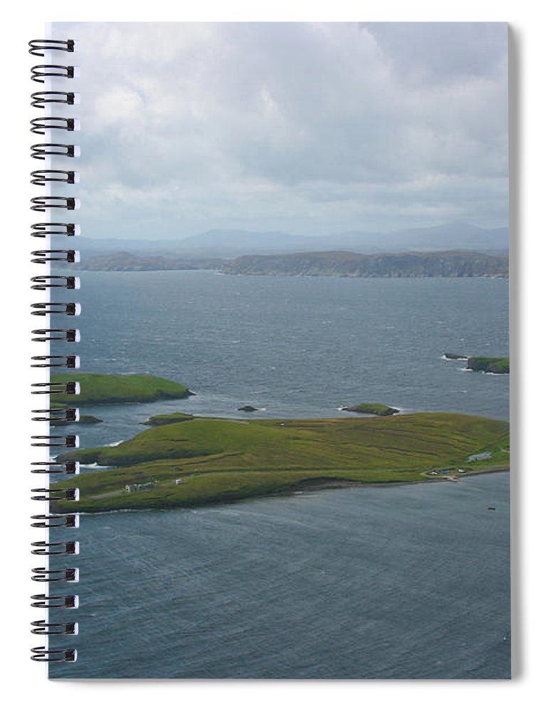 Tranquility Spiral Notebook featuring the photograph Holm, Stornoway, Isle Of Lewis by Donald Morrison