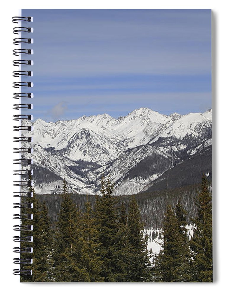 Scenics Spiral Notebook featuring the photograph Holy Cross Wilderness Area, Colorado by John Kieffer