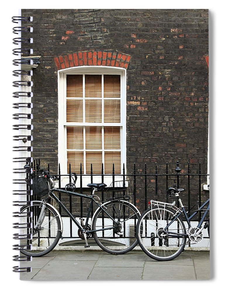 Row House Spiral Notebook featuring the photograph House In London by Imagestock