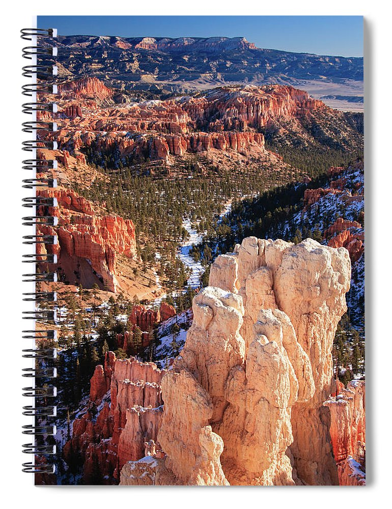 Tranquility Spiral Notebook featuring the photograph Inspirational by Daniel Cummins