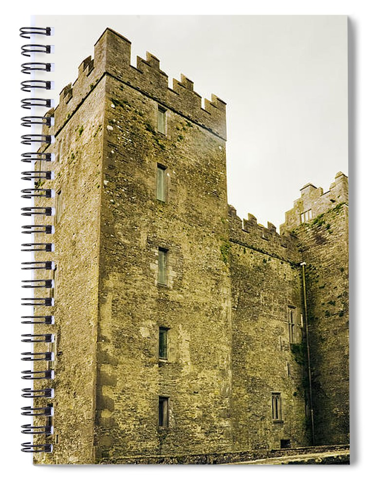 Bunratty Castle Spiral Notebook featuring the photograph Ireland Bunratty Castle In County by Alantobey