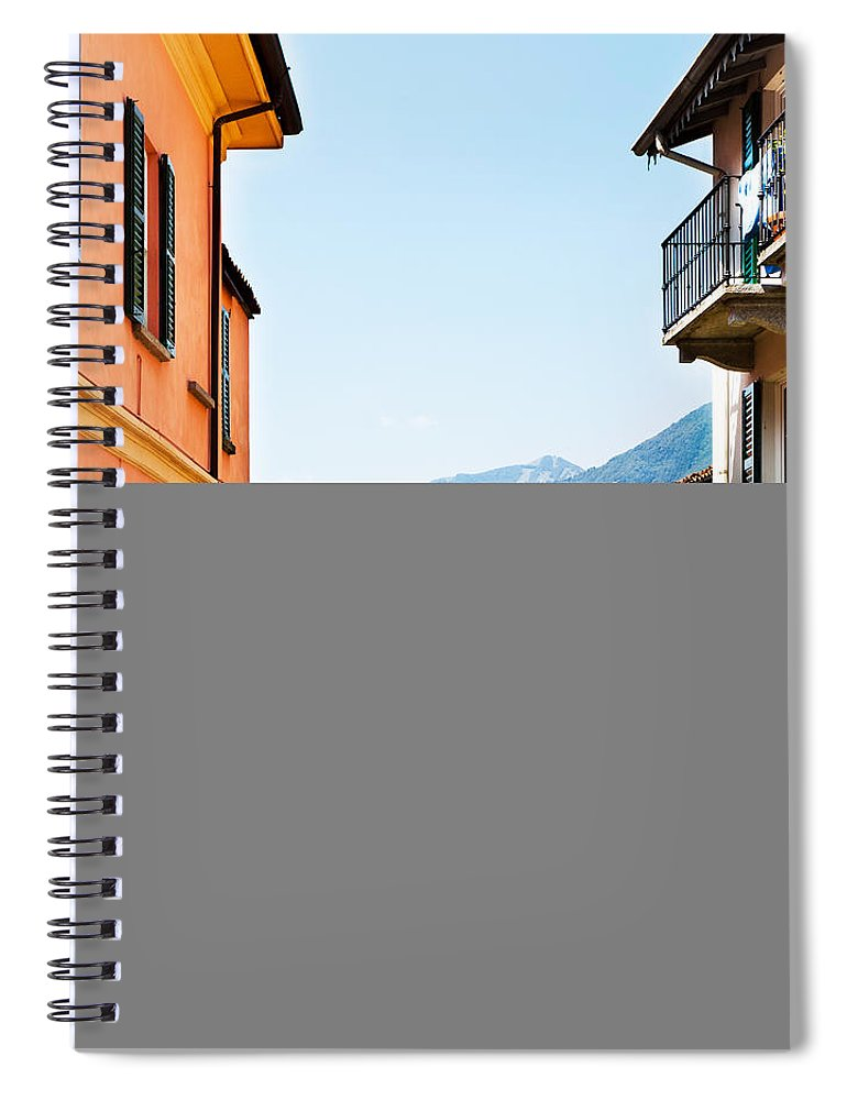 Italian Culture Spiral Notebook featuring the photograph Italian Village by Tomml