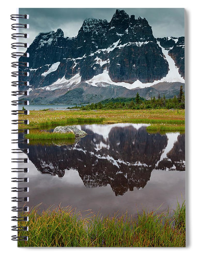 Unesco Spiral Notebook featuring the photograph Jasper National Park, Alberta, Canada by Mint Images/ Art Wolfe