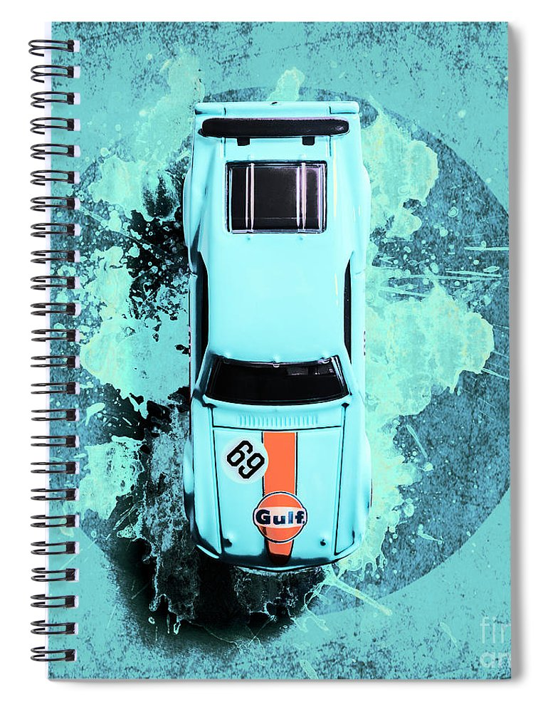 Car Spiral Notebook featuring the photograph Like A Boss by Jorgo Photography - Wall Art Gallery