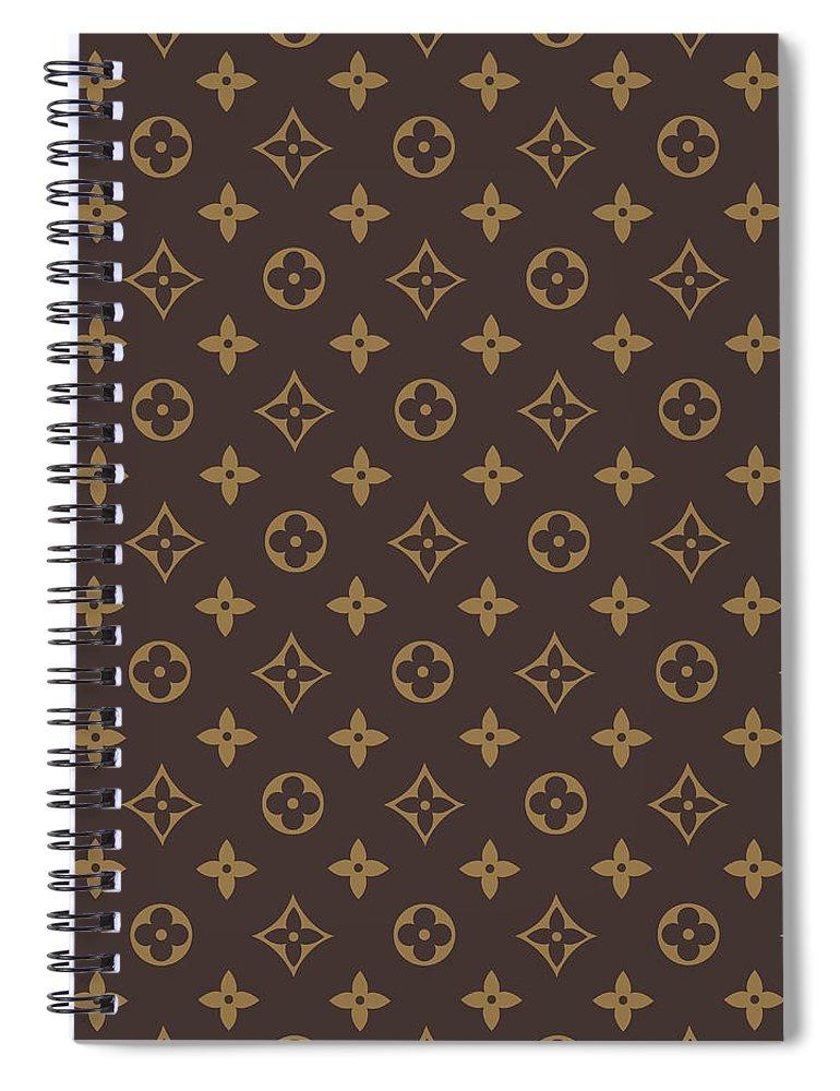 Louis Vuitton Spiral Notebook featuring the digital art LV Art by VPPDGryphon