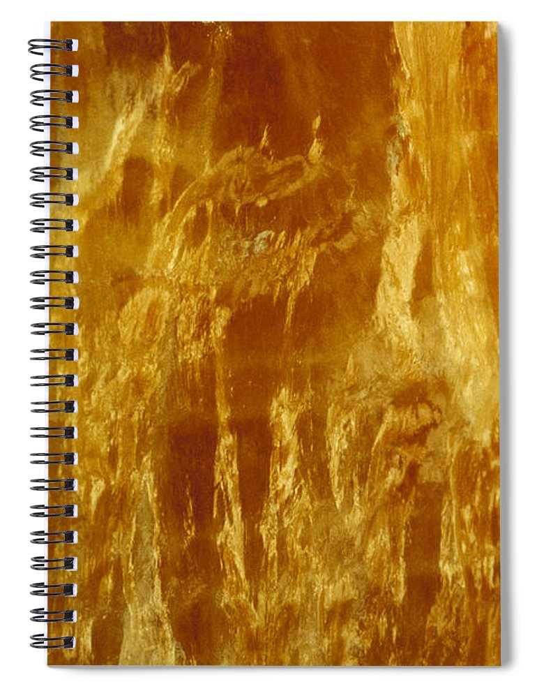 Mineral Spiral Notebook featuring the photograph Marble by David Wasserman