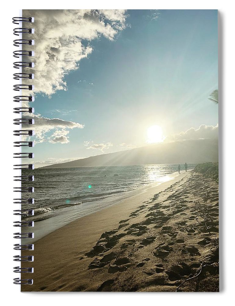 Hawaii Spiral Notebook featuring the photograph Maui by Kristin Rogers
