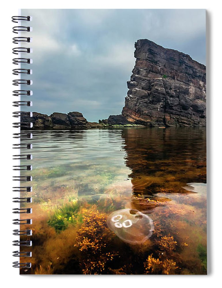 Rocks Spiral Notebook featuring the photograph Medusa by Evgeni Dinev