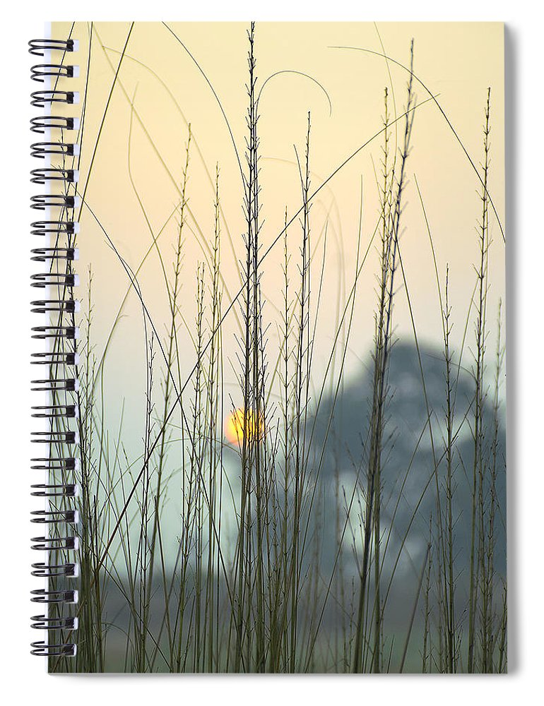 Landscape Spiral Notebook featuring the photograph morning Star by Ravi Bhardwaj