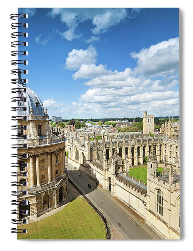 Education Spiral Notebook featuring the photograph Oxford, Uk by Nikada