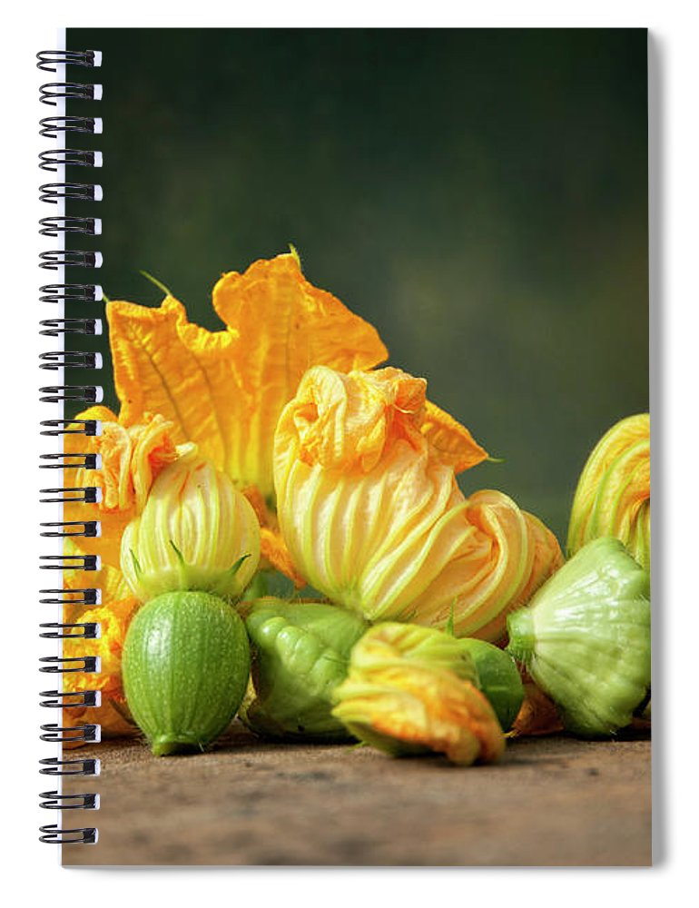 Healthy Eating Spiral Notebook featuring the photograph Patty Pans by Jojo1 Photography