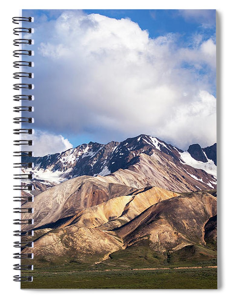 Tranquility Spiral Notebook featuring the photograph Polychrome Overlook View by Daniel A. Leifheit