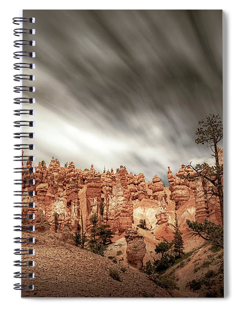 Bryce Canyon Spiral Notebook featuring the photograph Queens Garden In Bryce Canyon National Park by Robert Hayton