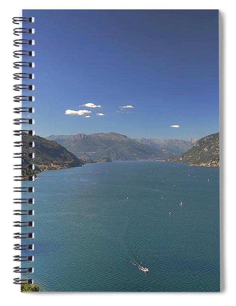 Scenics Spiral Notebook featuring the photograph Quel Ramo Del Lago Di Como by Filippo Maria Bianchi