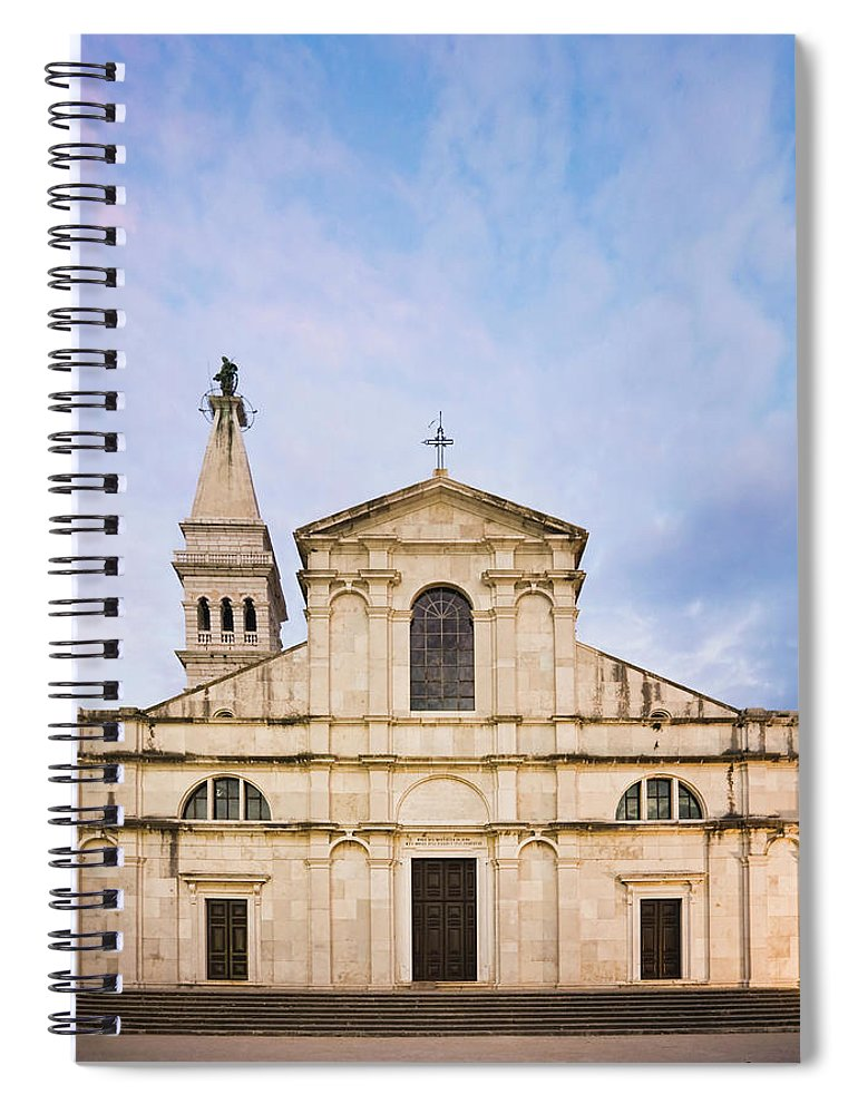 Outdoors Spiral Notebook featuring the photograph Saint Euphemia Church by David Madison